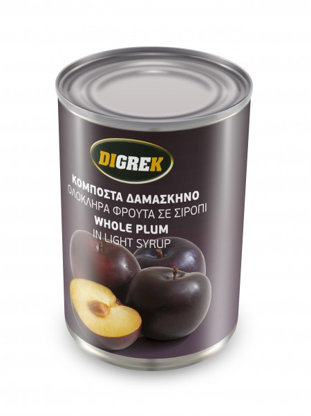 CANNED WHOLE PLUMS